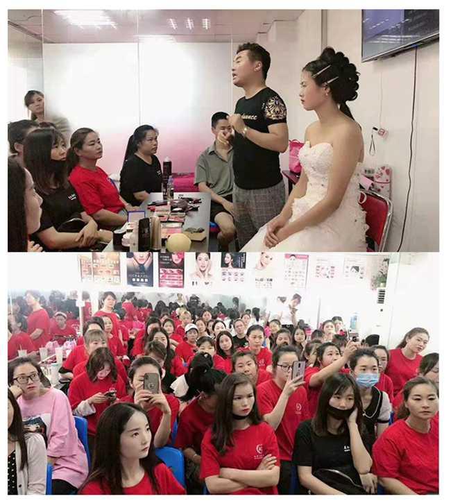 <b>  8月3号 亚美化妆培训学校张义老师-化妆公开课</b>