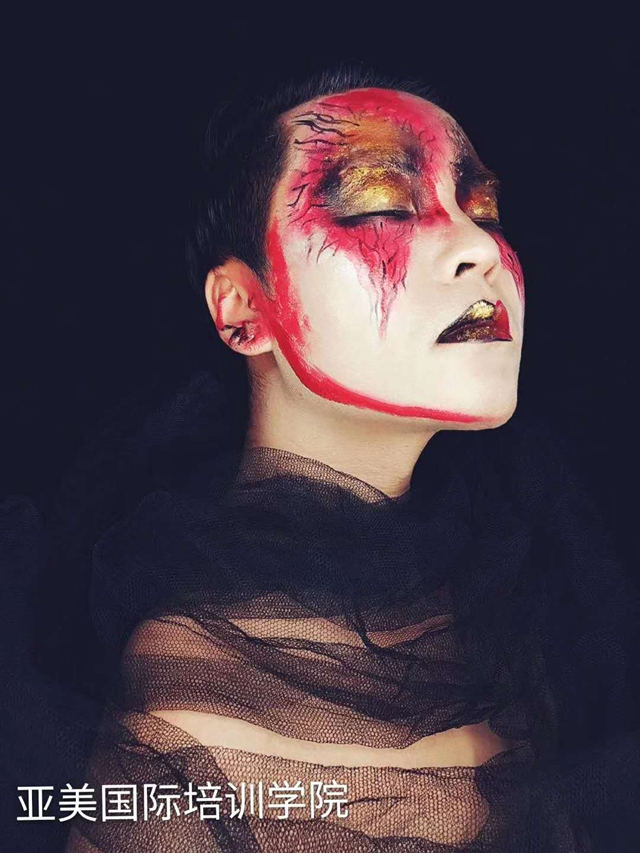 油彩妆----化妆---张义老师
